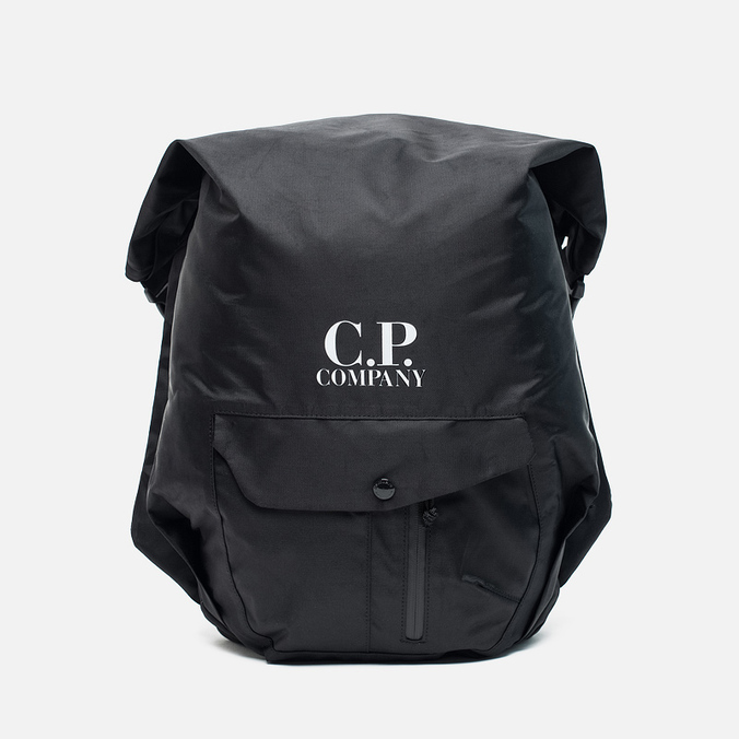 CP Company Zaino Con Backpack Cappuccio Black