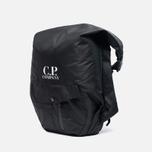 CP Company Zaino Con Backpack Cappuccio Black photo- 1