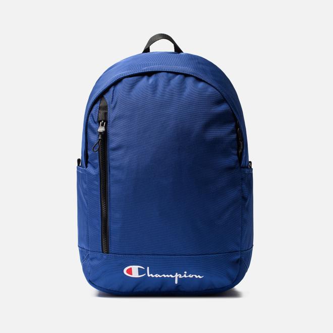 Рюкзак Champion Reverse Weave Below Script Logo Clematis Blue