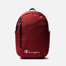 Рюкзак Champion Reverse Weave Below Script Logo Dark Red фото- 0