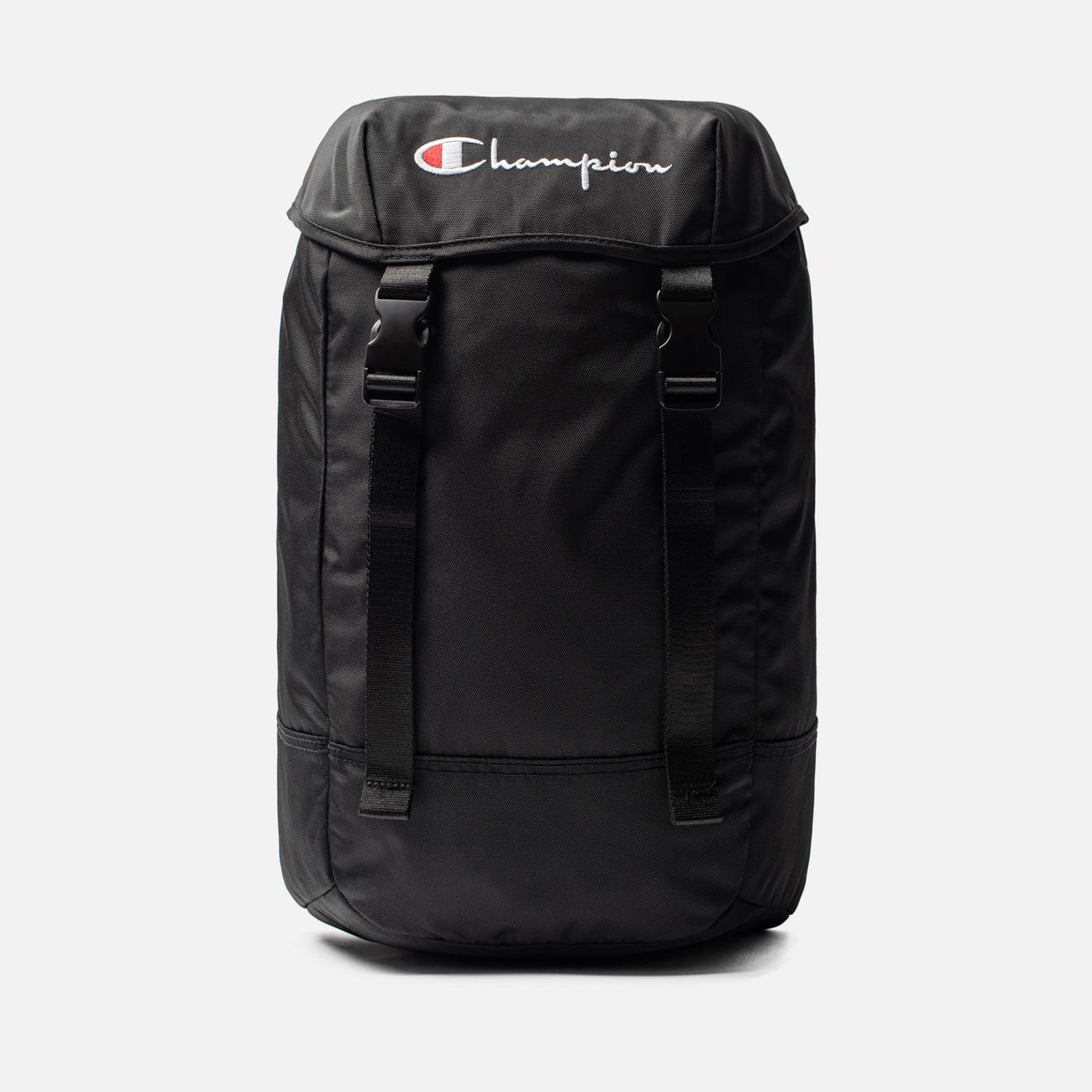 Рюкзак Champion Reverse Weave Top Script Logo Black Beauty