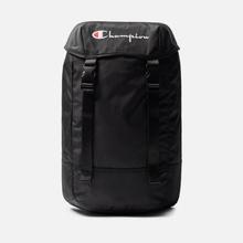 Рюкзак Champion Reverse Weave Top Script Logo Black Beauty фото- 0