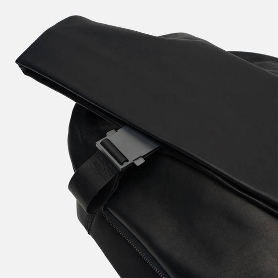 Рюкзак Cote&Ciel Isar Medium Alias Cowhide Leather Agate Black