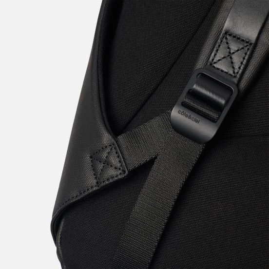 Рюкзак Cote&Ciel Isar Medium Coated Canvas Black