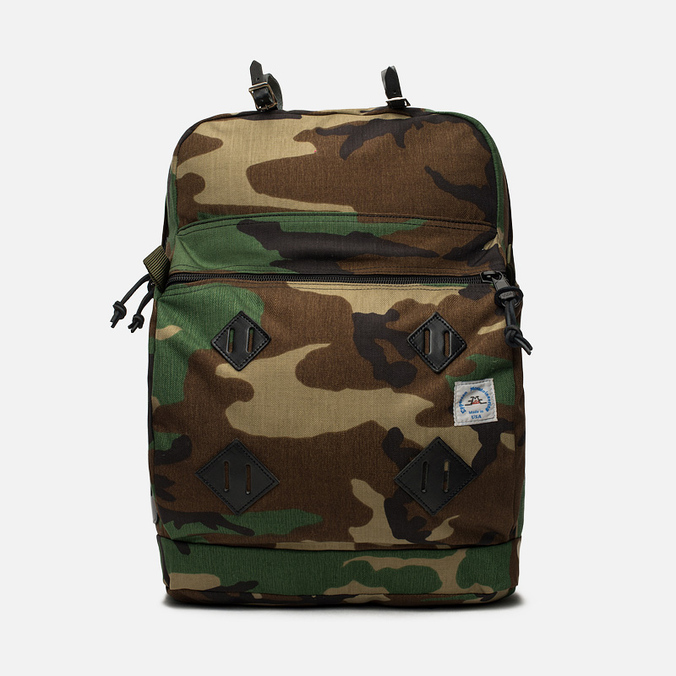 Epperson Mountaineering Leather Patch Backpack Camo