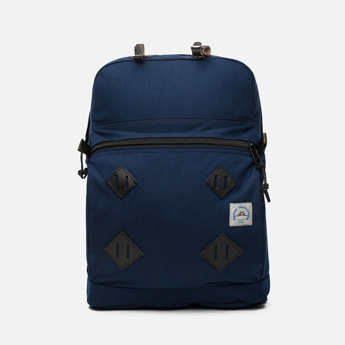 Epperson Mountaineering Leather Patch Backpack Midnight