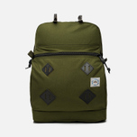 Epperson Mountaineering Leather Patch Backpack Moss photo- 0