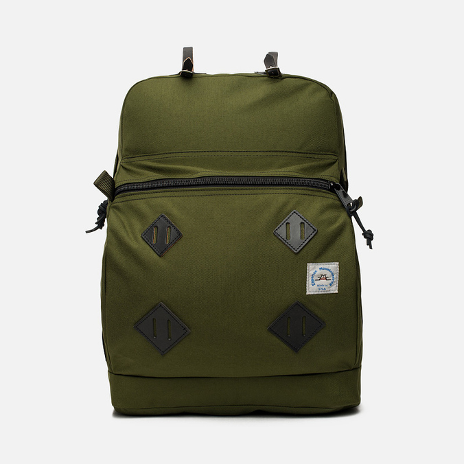 Epperson Mountaineering Leather Patch Backpack Moss