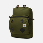 Epperson Mountaineering Leather Patch Backpack Moss photo- 1