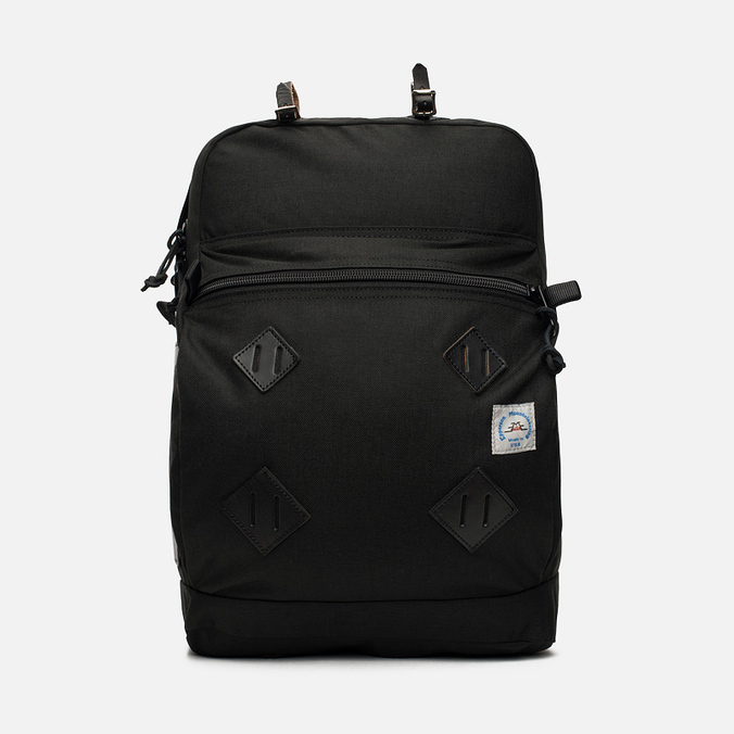 Epperson Mountaineering Leather Patch Backpack Raven