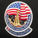 Epperson Mountaineering Vintage Nasa Patch Backpack Black photo- 5