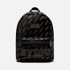 Рюкзак Evisu Evisukuro Fine Rocks Monogram All Over Printed Black
