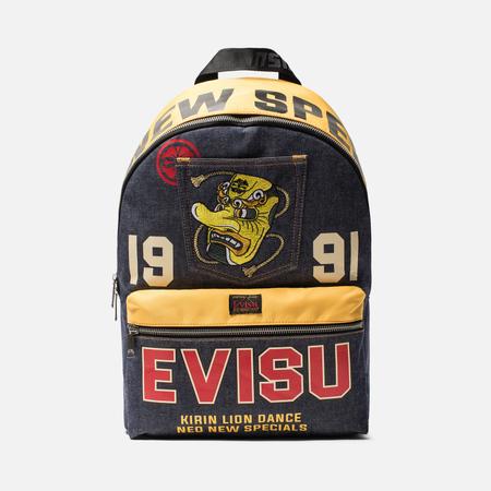 Рюкзак Evisu Heritage 1991 Evisu Indigo Rinse