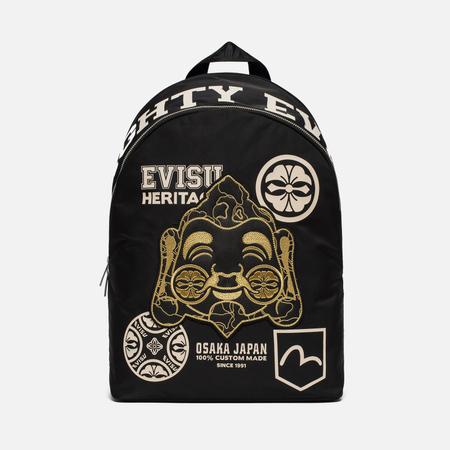 Рюкзак Evisu Heritage Godhead Graphic Black