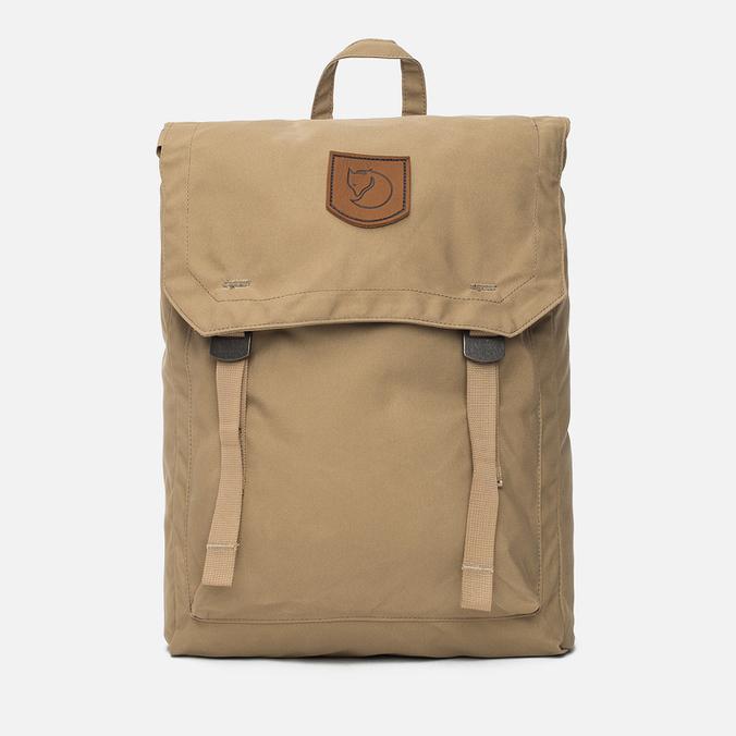 Fjallraven Numbers Foldsack No.1 Backpack Sand