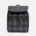 Рюкзак Fred Perry Gingham Grey/Black фото- 0