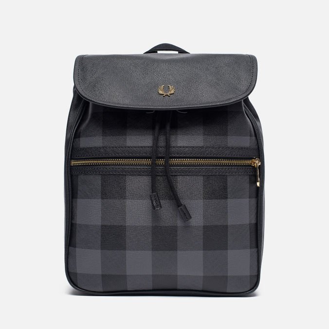Рюкзак Fred Perry Gingham Grey/Black