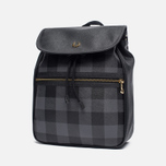Рюкзак Fred Perry Gingham Grey/Black фото- 1