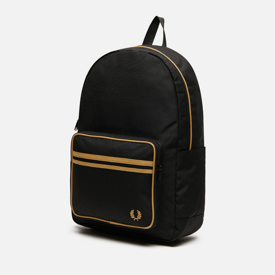 Рюкзак Fred Perry Twin Tipped Black/Champagne