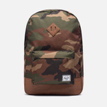 Рюкзак Herschel Supply Co. Heritage 21.5L Woodland Camo/Tan Synthetic Leather фото- 0