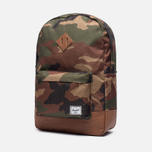 Рюкзак Herschel Supply Co. Heritage 21.5L Woodland Camo/Tan Synthetic Leather фото- 1