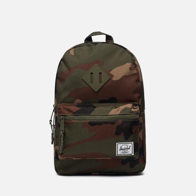 Детский рюкзак Herschel Supply Co. Heritage 9L Woodland Camo/Army Rubber