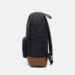 Рюкзак Herschel Supply Co. Heritage 21.5L Black/Tan Synthetic Leather фото- 2