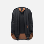 Рюкзак Herschel Supply Co. Heritage 21.5L Black/Tan Synthetic Leather фото- 3