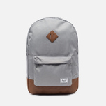 Рюкзак Herschel Supply Co. Heritage 21.5L Grey/Tan Synthetic Leather фото- 0
