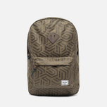 Herschel Supply Co. Heritage Backpack Metric/Black Rubber photo- 0