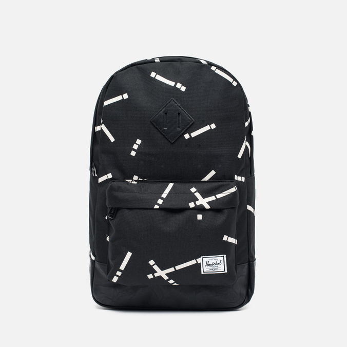 Рюкзак Herschel Supply Co. Heritage Mid Volume Black Code/Black