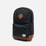 Рюкзак Herschel Supply Co. Heritage Mid Volume Black/Tan фото- 1