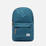 Рюкзак Herschel Supply Co. Heritage Mid Volume Indian Teal Rubber фото- 0