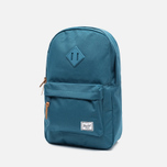 Рюкзак Herschel Supply Co. Heritage Mid Volume Indian Teal Rubber фото- 1