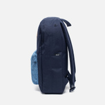 Herschel Supply Co. Heritage Mid Backpack Volume Peacoat/Limoges Crosshatch/Tan photo- 2