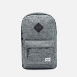 Рюкзак Herschel Supply Co. Heritage Mid Volume Scattered Raven Crosshatch/Black Rubber фото- 0