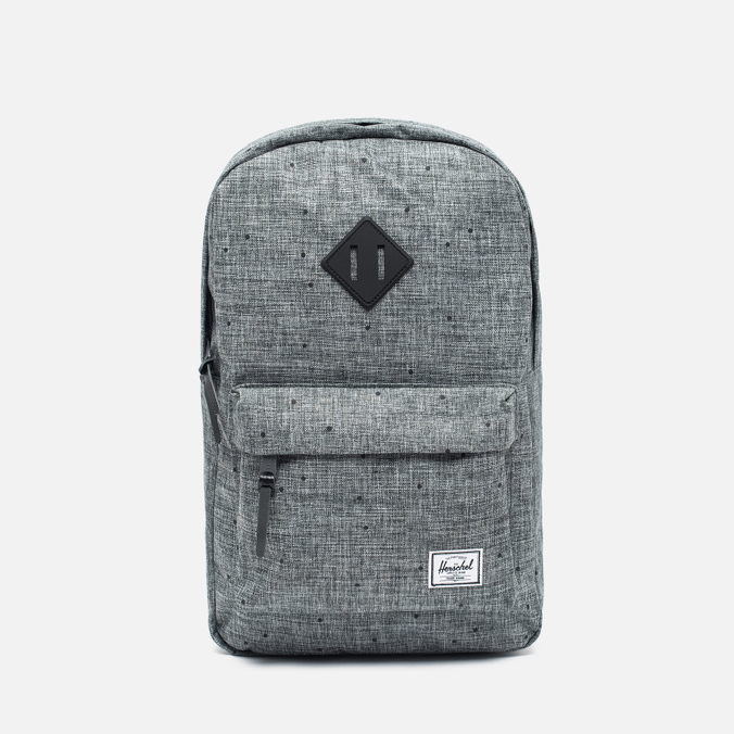 Рюкзак Herschel Supply Co. Heritage Mid Volume Scattered Raven Crosshatch/Black Rubber