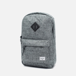 Рюкзак Herschel Supply Co. Heritage Mid Volume Scattered Raven Crosshatch/Black Rubber фото- 1