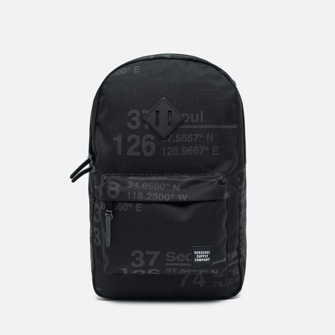 Рюкзак Herschel Supply Co. Heritage Mid Volume Site/Black Rubber