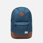 Рюкзак Herschel Supply Co. Heritage 21.5L Navy/Tan Synthetic Leather фото- 0