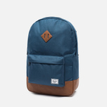 Рюкзак Herschel Supply Co. Heritage 21.5L Navy/Tan Synthetic Leather фото- 1