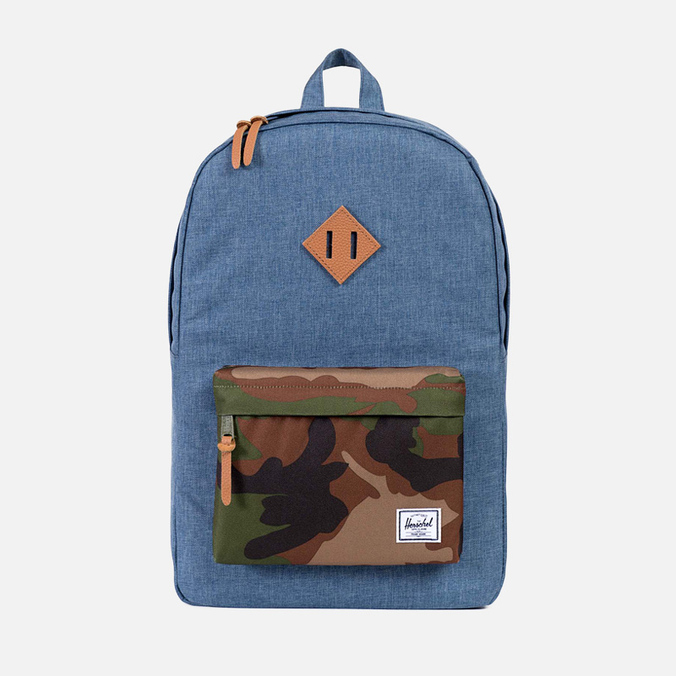 Рюкзак Herschel Supply Co. Heritage Navy Crosshatch/Woodland Camo