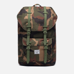 Рюкзак Herschel Supply Co. Little America 25L Woodland Camo/Army Rubber фото- 0