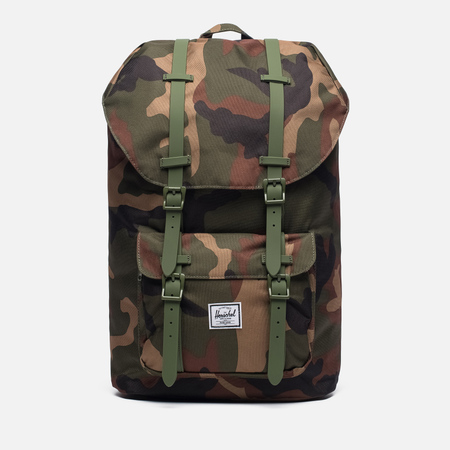 Рюкзак Herschel Supply Co. Little America 25L Woodland Camo/Army Rubber