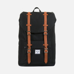 Рюкзак Herschel Supply Co. Little America Mid-Volume Black/Tan PU фото- 0