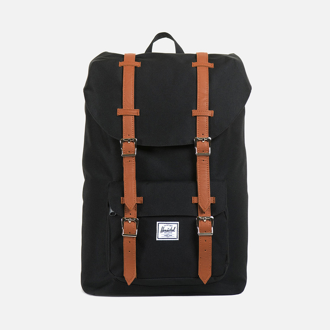 Рюкзак Herschel Supply Co. Little America Mid-Volume Black/Tan PU