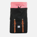 Рюкзак Herschel Supply Co. Little America Mid-Volume Black/Tan PU фото- 3