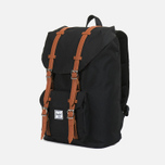 Рюкзак Herschel Supply Co. Little America Mid-Volume Black/Tan PU фото- 1