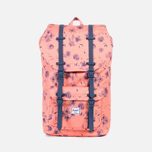 Рюкзак Herschel Supply Co. Little America Ruby Burnt/Coral Rubber фото- 0