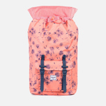 Herschel Supply Co. Little America Backpack Ruby Burnt/Coral Rubber photo- 2